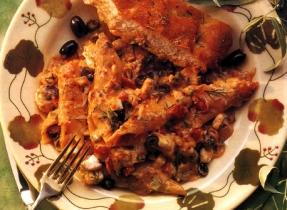 Pasta and Feta Cheese Casserole