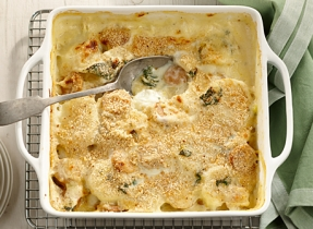 Sausage, Kale and Potato Casserole