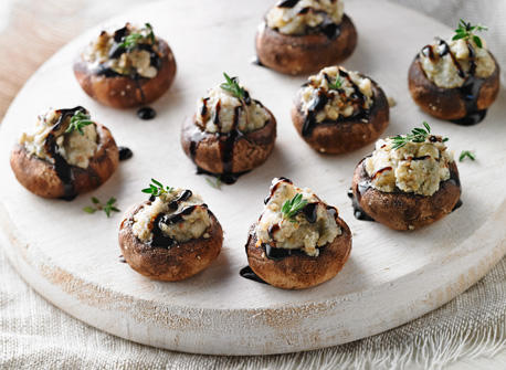 stuffed mushrooms recipe all you need is cheese. Black Bedroom Furniture Sets. Home Design Ideas