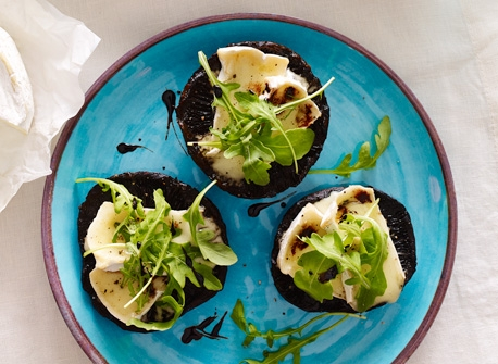 Grilled Portobello with Canadian Brie Recipe