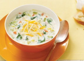 Greens & Rosemary Chowder