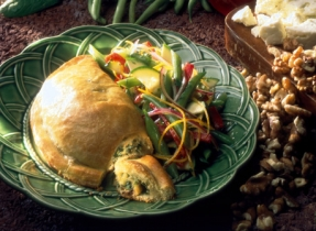 Giant Spinach and Feta Cheese Turnovers
