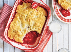 Berry Apple Cobbler