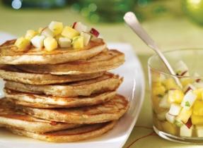 Cheese & Tarragon Pancakes