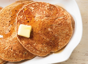 Spiced Ricotta pancakes