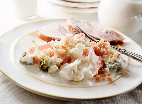 Crispy-Topped Vegetable Casserole Recipe