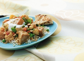 Super-Fast Chicken and Vegetable Curry