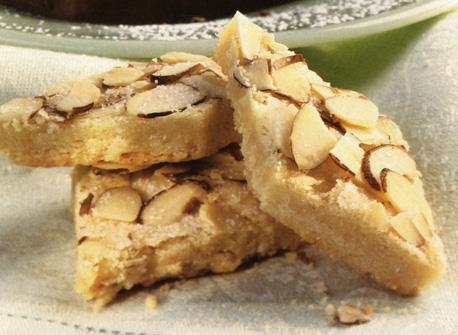 Almond Diamond Cookies Recipe
