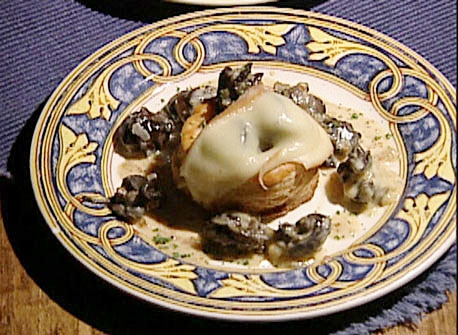 Escargots in Flaky Pastry Shells with Migneron Cheese Recipe