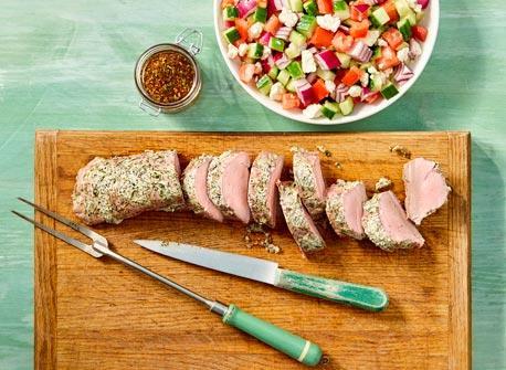 Greek Marinated Pork Tenderloin Recipe