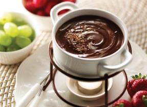 Divine decadence fondue