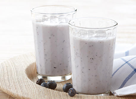 Lychee & Blueberry Smoothie Recipe