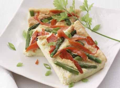Smoked Salmon Frittata Recipe