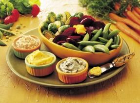 Seasoned Vegetable Toppers