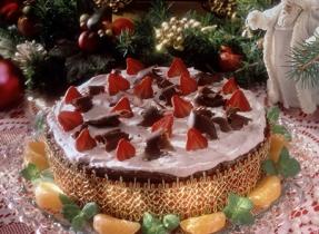 Choco-Berry Cheesecake