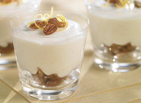 No-Bake Lemon Pecan Cheesecake Cups Recipe