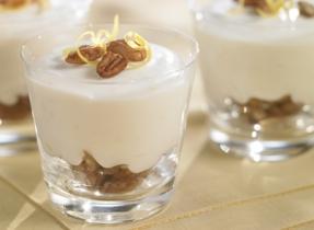 No-Bake Lemon Pecan Cheesecake Cups