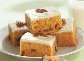 Decadent Carrot Cake (Cooking Club Size)