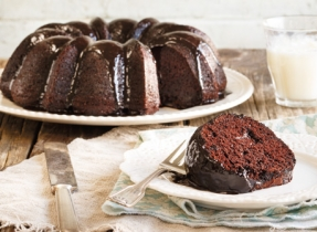 Mayan Chocolate Bundt Cake