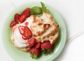 Light & Lovely Strawberry Shortcakes