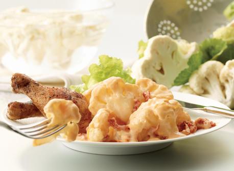 Sun-Dried Tomato Cauliflower Cheese Recipe