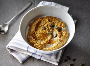 Overnight Pumpkin Porridge