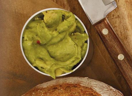 Cilantro-Lime Guacamole Recipe