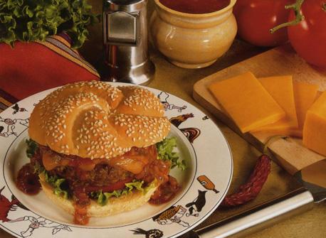 Mexicana Cheeseburgers Recipe