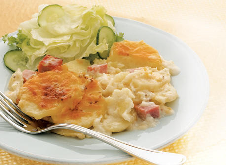 All-in-One Ham and Scalloped Potatoes Recipe