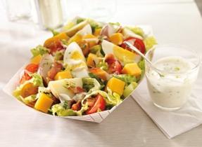 Everyone's Favourite Potato and Cheddar Salad