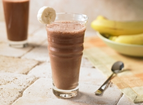 Dark Chocolate Banana Fruit Shake