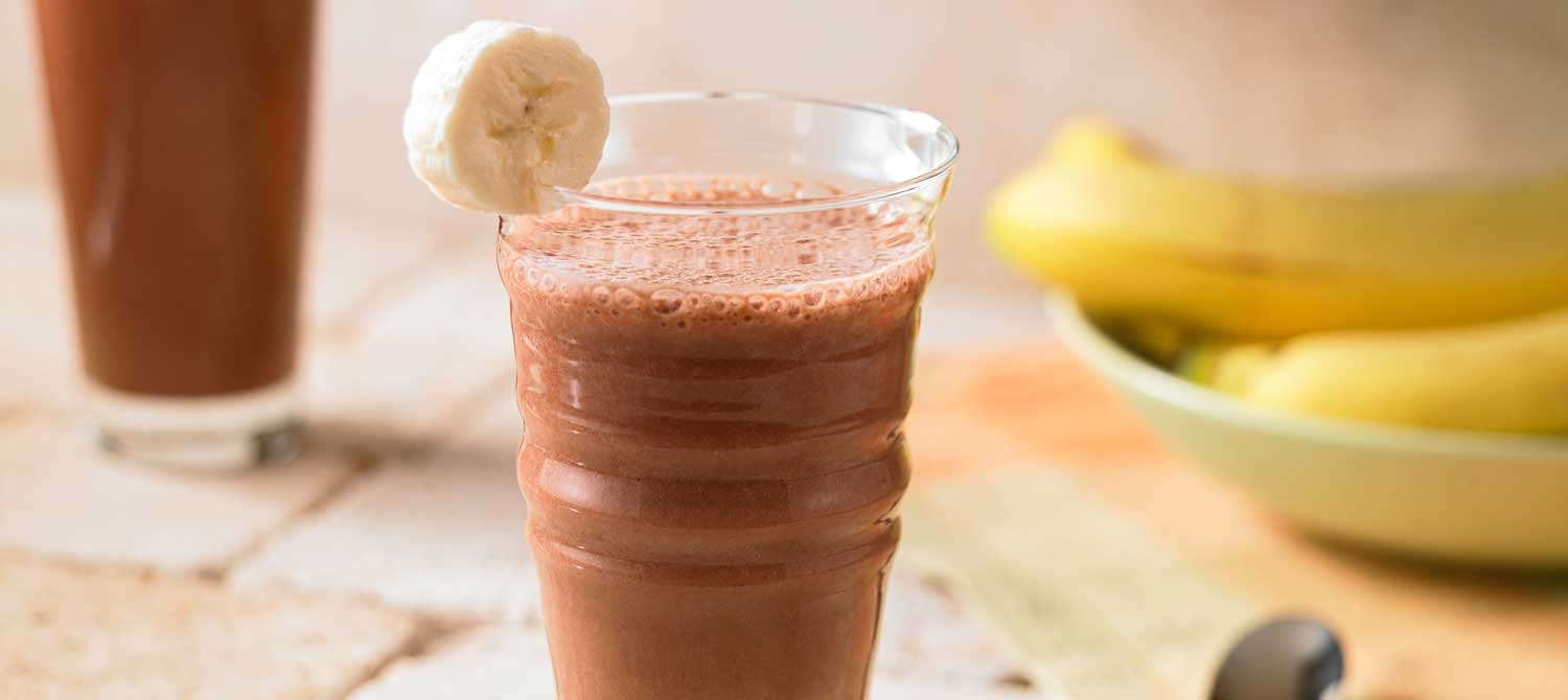 Banana With Chocolate Milk
