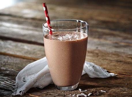 Cocoa Coconut Banana Smoothie Recipe