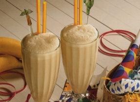 Caramel Banana Shake-Up
