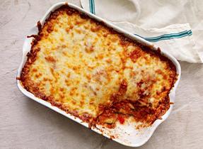Four-Cheese Zucchini Lasagna