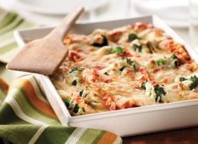 Easy Broccoli Lasagna