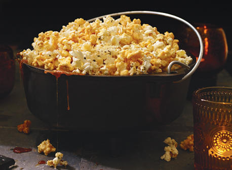 Parmesan and Caramel Popcorn  Recipe
