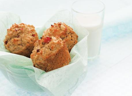 Maple Apple Oatmeal Muffins Recipe