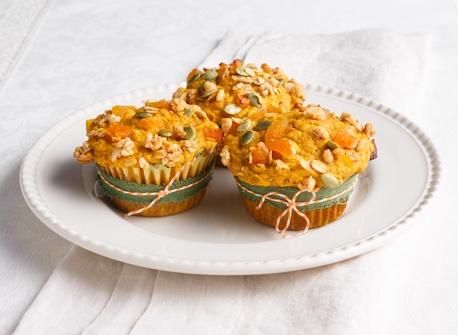 Pumpkin Granola Muffins Recipe