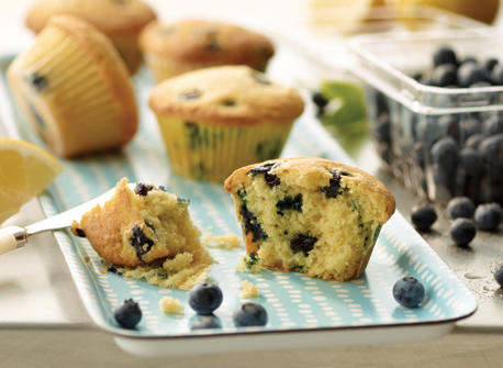 Fresh Blueberry Lemon Muffins Recipe