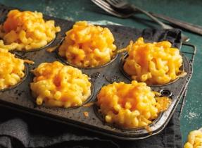 Mac 'n Cheese Muffins