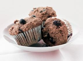 The Best Blueberry Bran Muffins