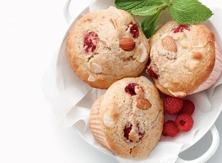 Raspberry Almond Muffins Recipe