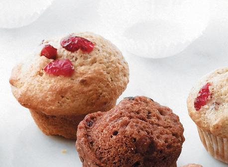 Cranberry Flax Muffins Recipe