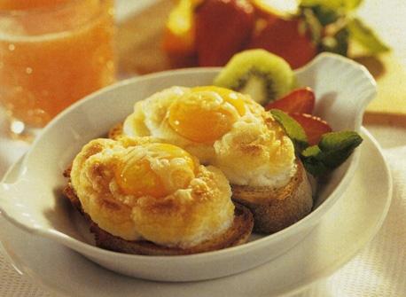 Egg in a Cloud Recipe