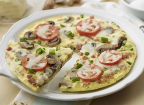 Puffy Pizza Omelette