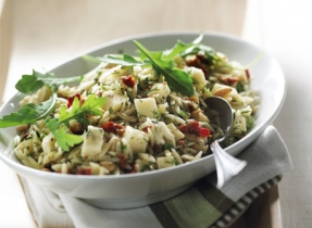 Orzo with Gouda and Sun-Dried Tomatoes