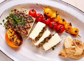 Grilled spiced Paneer
