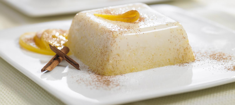 Honey Peach Panna Cotta recipe | Dairy Goodness