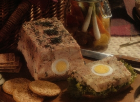 Versatile Chicken and Ham Pâté